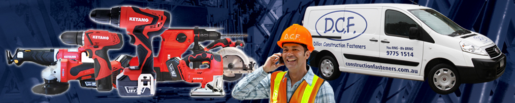 Power tools suitable for construction fasteners - Melbourne
